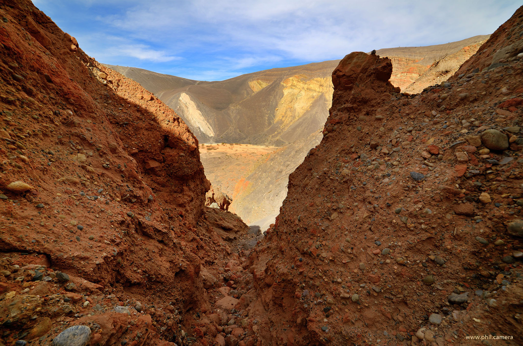 Ubehebe Crater, Death Valley NP, CA