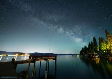 June Milky Way over Lake Tahoe (1 of 3) 06/11/2015