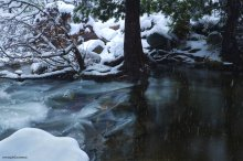 April Snow Showers on Eagle Falls - Emerald Bay, Lake Tahoe, CA 04/25/2015