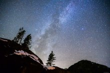 Milky Way over Donner Summit
