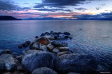 East Shore Serene Rocks - Lake Tahoe