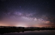 Milky Way Over the Pools, West Shore Lake Tahoe 06/13/2015