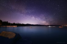 Milky Way over Tahoe Blue 06/17/2015