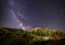 Milky Way over Wanderlust, Squaw Valley, CA (1 of 3) 07/18/2015