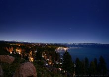 New Years Eve over North Lake Tahoe 12/31/2014