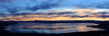 Watercolor Sky over Lake Tahoe 01/08/2015