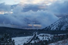 Tahoe Peaking Through 03/02/2015