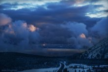 Peeping Tahoe through the storm. 03/02/2015