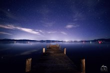 Night Pier - Tahoe City, CA