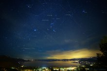 Scenic Star Charts - Lake Tahoe (1st of Series) 02/2015
