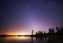 Zodiacal Light over Sand Harbor 02/15