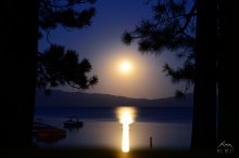 Harvest Moon Rise 2016 - West Shore Lake Tahoe