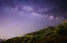 Milky Way over Wanderlust, Squaw Valley, CA (3 of 3) 07/18/2015