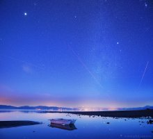 Winter Stars Over Hercules, North Shore Lake Tahoe 03/08/2015